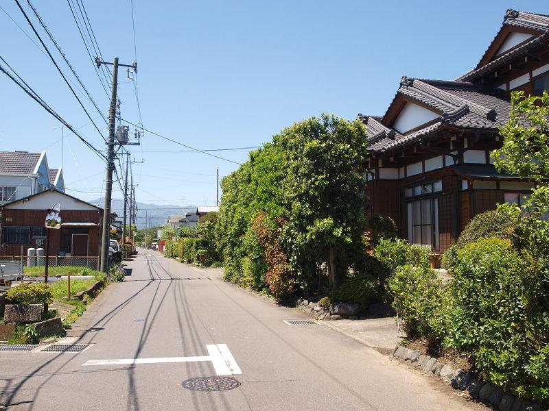 現在の新田宿中屋敷の辺り