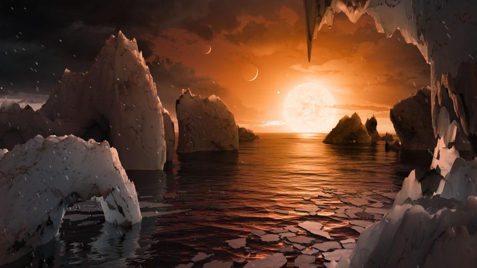 【地球からお引越し?】太陽系外に新たに地球型惑星が7個発見!!