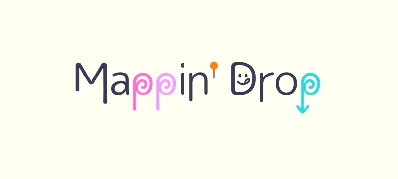 簡単に地図を作ってみよう!ありそうでなかった「Mappin'Drop」